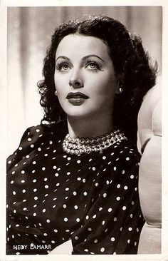 https://flic.kr/p/5FUMLN | Hedy Lamarr | Dutch postcard by J. Sleding N.V., Amsterdam, no. S 63. Photo: MGM.  Glamorous and seductive film star Hedy Lamarr (1913–2000) was born in Austria. The notorious Czechoslovak film Ecstasy made her an international sensation, and Louis Mayer invited to Hollywood where she became 'the most beautiful woman in films'.  For more postcards, a bio and clips check out our blog European Film Star Postcards.