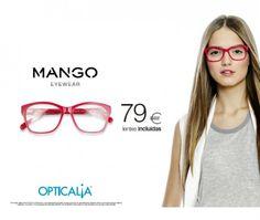 OPTICALIA - Armação Mango com lentes incluídas desde 79€ - Promoção válida até 28/02/2014