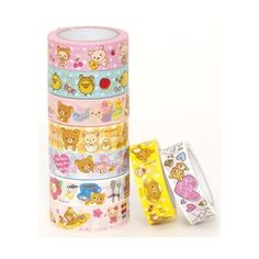 Washi tape ❤ liked on Polyvore featuring home, home decor and office accessories