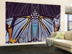 Industrial Iris Wall Mural – Large by Belen Mena at AllPosters.com