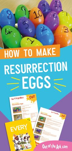 Easter Crafts for Kids - How to Make Resurrection Eggs - This Easter craft idea for kids is a great way to talk about the Easter story to children. Our easy - Easter Songs For Kids, Easter Crafts For Adults, Easter Art, Kids Songs, Primary School Songs, Out Of The Ark, Singing School, Resurrection Eggs, Easter Story