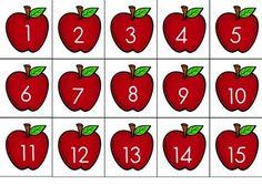 Apples 1-100 FREEBIE
