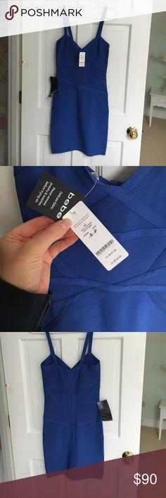 Selling this Bandage dress on Poshmark! My username is: lunnyc13. #shopmycloset #poshmark #fashion #shopping #style #forsale #bebe #Dresses & Skirts