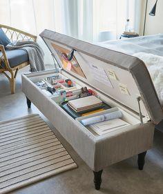 Room Design Bedroom, Room Ideas Bedroom, Home Room Design, Ikea Bedroom, Study Room Decor, Bedroom Stuff, Ikea Room Ideas, Space Saving Bedroom, Small Space Bedroom