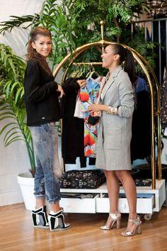 Kat Graham & Zendaya shopping in West Hollywood, May 7 (x)