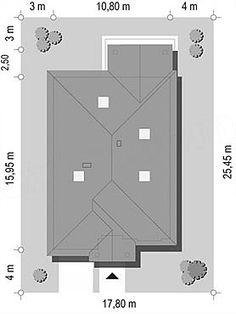 Projekt Dom na parkowej 7 B 151,65 m2 - koszt budowy 213 tys. zł - EXTRADOM Filing Cabinet, Storage, Furniture, Home Decor, Homes, Purse Storage, Decoration Home, Binder, Room Decor