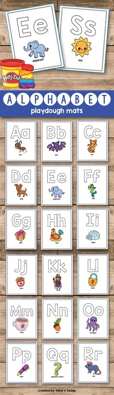 Letter formation printable activities for kindergarten and preschool students are fun and easy practice for teaching uppercase and lowercase alphabet letters to students. Kids will learn the letters and develop their fine motor skills in the classroom with these sensory ideas. Each playdough paper includes a cute picture that will make letter formation feel like game, not an worksheet. The students will make the shape of each letter using the play dough and will place the letter on the…