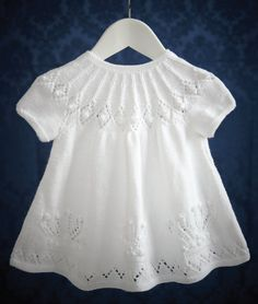 Christening Dress in Patons Baby Smiles Fairytale Dreamtime 4 Ply: http://www.mcadirect.com/shop/patons-baby-smiles-fairytale-dreamtime-ply-25g-white-p-8135.html