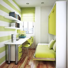 Space Saving Apartment ideas and Storage Furniture Effectively Utilizing Space in Small Rooms Small Bedroom Ideas Apartment Effectively Furniture Ideas Rooms Saving Small Space Storage Utilizing Space Saving Bedroom, Small Space Bedroom, Small Bedroom Designs, Small Room Design, Small Rooms, Small Spaces, Narrow Bedroom, White Bedroom, Modern Bedroom