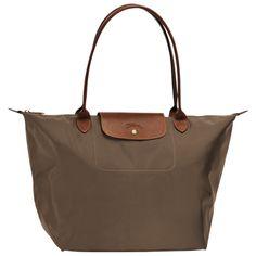 Shopping bag L - Le Pliage - Tassen - Longchamp - Bosbessenblauw - Longchamp België/Belgique