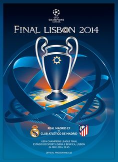 2014 CL Final Real Madrid - Atletico Madrid in Lisbon