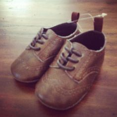 Cutest baby boy shoe's