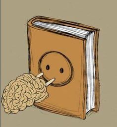 Livros recarregam seu cérebro.