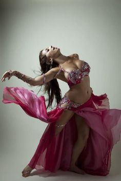 hot legged belly dancer in sexy dance pose: Shahdana by Nam