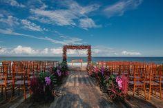 Destination wedding em Trancoso: Marina Coser e Nelson Saldanha - Constance Zahn Destination Wedding, Wedding Day, Marina Bay Sands, Ems, Travel, Altar, Amanda, Weddings, Destination Weddings