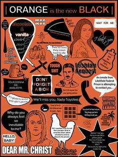 OITNB....obsessed with this show