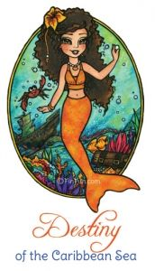 Mermaid stories, coloring pages, games, pictures and real swimmable mermaid tails