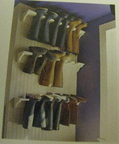 boot storage..bad picture but great idea!