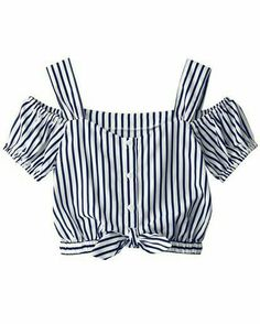 Blouses for women – Lady Dress Designs Teen Fashion Outfits, Classy Outfits, Kids Outfits, Girl Fashion, Casual Outfits, Cute Outfits, Jugend Mode Outfits, Crop Top Outfits, Diy Clothes