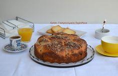 Τα σταφιδόψωμα της ευκολίας (video) - cretangastronomy.gr Bread Cake, French Toast, Muffin, Breakfast, Food, Morning Coffee, Eten, Cupcakes, Muffins