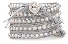 My husband just bought me this!!! Victoria Emerson wrap bracelet in gray freshwater pearls. Can't wait to get it in the mail.
