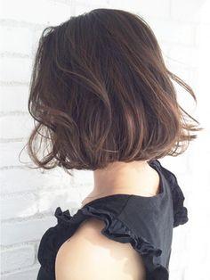 アルバム 原宿店(ALBUM) 【ALBUM原宿】能瀬_ハイライトグラデーションボブ_ba6211