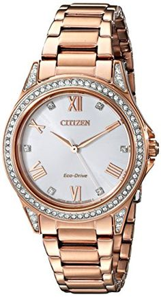 Drive From Citizen Eco-Drive Women's EM0233-51A POV Watch