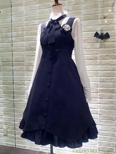 Pin on Lolita Blouses & Bodices Pretty Outfits, Pretty Dresses, Cute Outfits, Cosplay Dress, Cosplay Outfits, Kawaii Fashion, Lolita Fashion, Old Fashion Dresses, Fashion Outfits