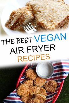 When you are ready to try vegan air fryer recipes, there are a variety of healthy, oil free, or even gluten-free recipes to try. You can make these easy options for breakfast, lunch, dinner, or dessert using tofu, cauliflower and many other ingredients. These are the best recipes for your plant based or vegan diet! Air Fryer Recipes Vegan, Best Vegan Recipes, Vegetarian Recipes, Free Recipes, Air Fryer Healthy, Easy Recipes, Vegan Junk Food, Vegan Snacks, Vegan Dinners