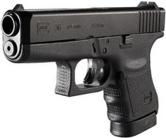Glock 37 in .45 GAP, shorter than a standard .45 ACP round. Shout ...