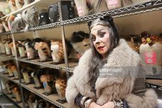 New York Post gossip columist Cindy Adams transformed into 'Grizabella The Glamour Cat' while making her Broadway debut in 'Cats' at The Neil Simon Theater on November 30, 2016 in New York City. Adams is promoting her 8th Annual Blessing of The Animals on December 11.