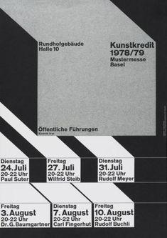 Wolfgang Weingart (germany kunstkredit)  museum für gestaltung zürich, graphics collection 1978/79, 1978