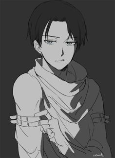 Captain Levi from aot