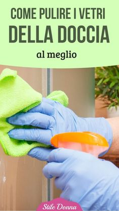 How to clean the shower windows to the fullest - Home Cleaning Window In Shower, How To Fold Towels, Desperate Housewives, Home Management, Shower Cleaner, Fresh And Clean, Natural Cleaning Products, Home Hacks, Housewife