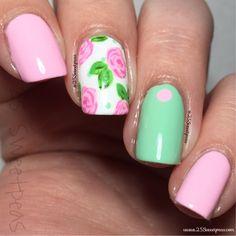 xxxxx Nail Blog, Flower Nail Art, Short Nails, Nails Inspiration, Beauty Nails, How To Look Pretty, Nail Ideas, My Nails, Nailart