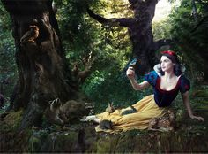Annie Leibovitzs Disney Dreams  - classic-disney Photo  Rachel Weisz is Snow White