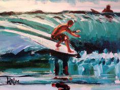 Sea breeze #surf art