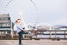 I had such a great time down town Seattle on the boardwalk during this engagement session with Molly and John. We visited the great wheel, got ice cream and rode the carousel! The rain held off just for us. Follow me at facebook.com/taylerchristinephotography to see more love!