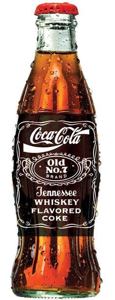 Coke Cola old Tennessee Whiskey Vintage Coca Cola, Coca Cola Ad, Always Coca Cola, Coca Cola Bottles, Jack Daniels, Coke, Etiquette Vintage, Tennessee Whiskey, Liquor