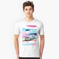 """Beach race JJ6"" T-shirt by Pagarelov 