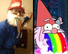 SHMEBULOCK! My Gravity Falls Halloween Costume :)