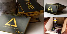 17 Beautiful Business Cards: Best of April 2014