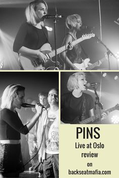 ICYMI I reviewed PINS at Oslo, Hackney for Backseat Mafia (including set list and gallery) #PINS #Oslo #Hackney #livemusic #livereview #gigreviews #backseatmafia #musicphotos