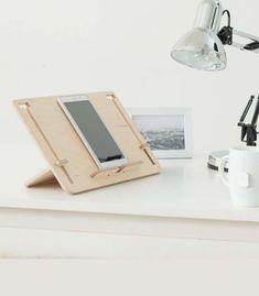 Support en bois pour tablette, e-book ou livre - Detablet