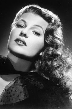 Rita Hayworth. (born Margarita Carmen Cansino) October 17, 1918 – May 14, 1987) was an American dancer and film actress who achieved fame during the 1940's as one of the era's top actresses.
