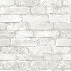 Art3d Peel and Stick 3D Wall Panels for TV Walls / Sofa Background Wall Decor, White Brick Wallpaper