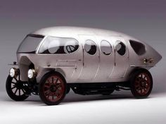 We would love to load this baby up with corsets and roll up to a convention that way...