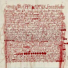 .Claudia Kallscheuer - Red thread writing