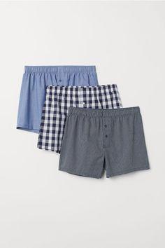 c473bcb1032f New Men's H&M Woven Boxers Plaid Checks Size M 1 Pack Blk/Wht #fashion # clothing #shoes #accessories #mensclothing #underwear (ebay link)