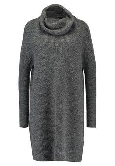 ONLY ONLJANA - Gebreide jurk - grey - Zalando.nl